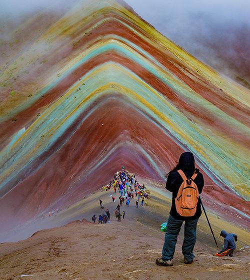 Rainbow mountain hike Vinicunca full day