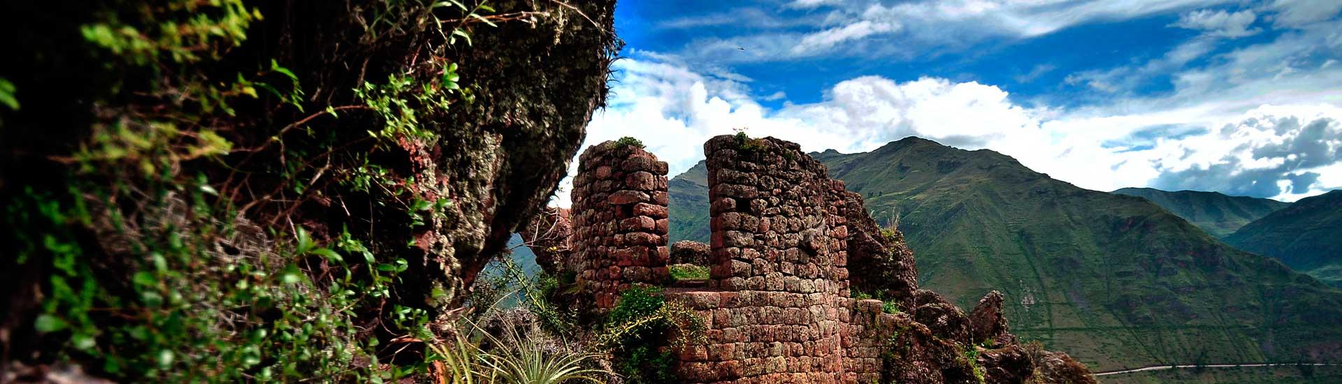 Inca trail to Machupicchu intipuco