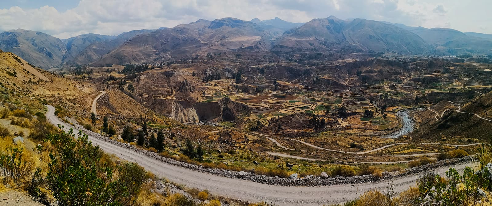 colca canion in arequipa