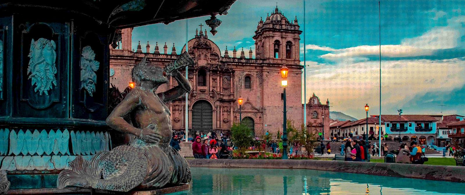 cusco the main square