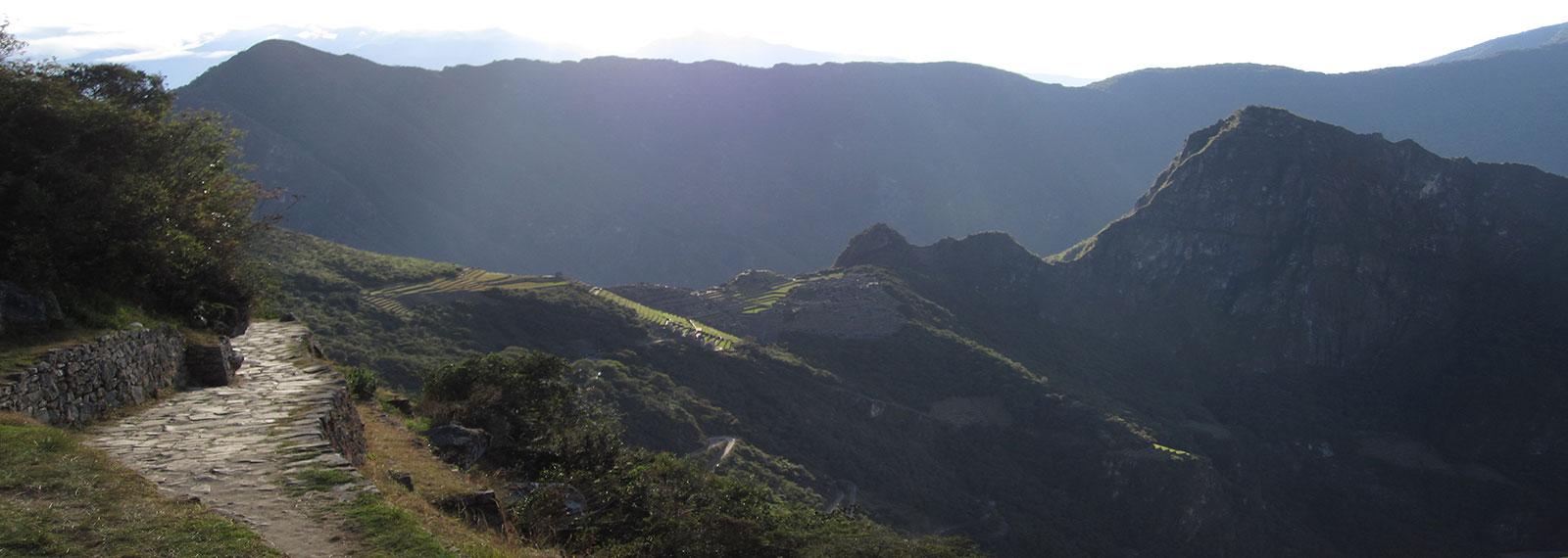 view machupicchu by inca trail
