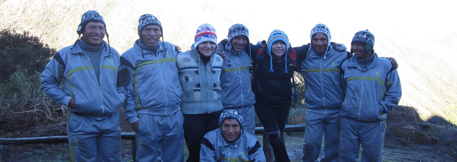 kaypi team to inka trail