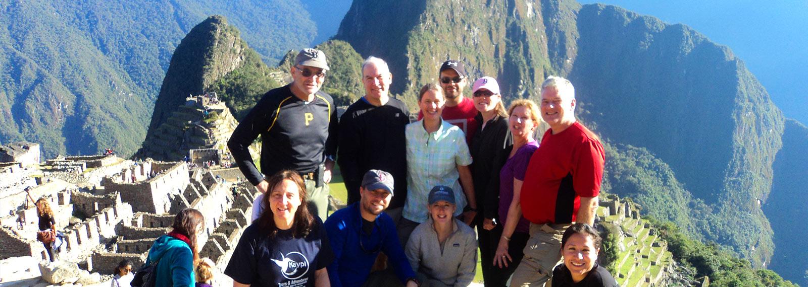 kaypi peru tours team on the inca trail