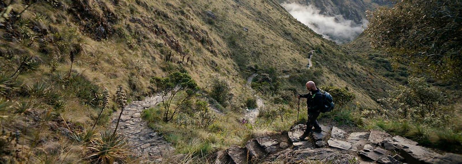 inca trail route to machu picchu