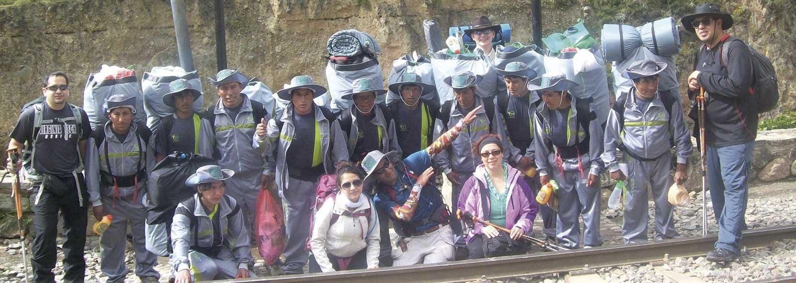 short inca trail trek team