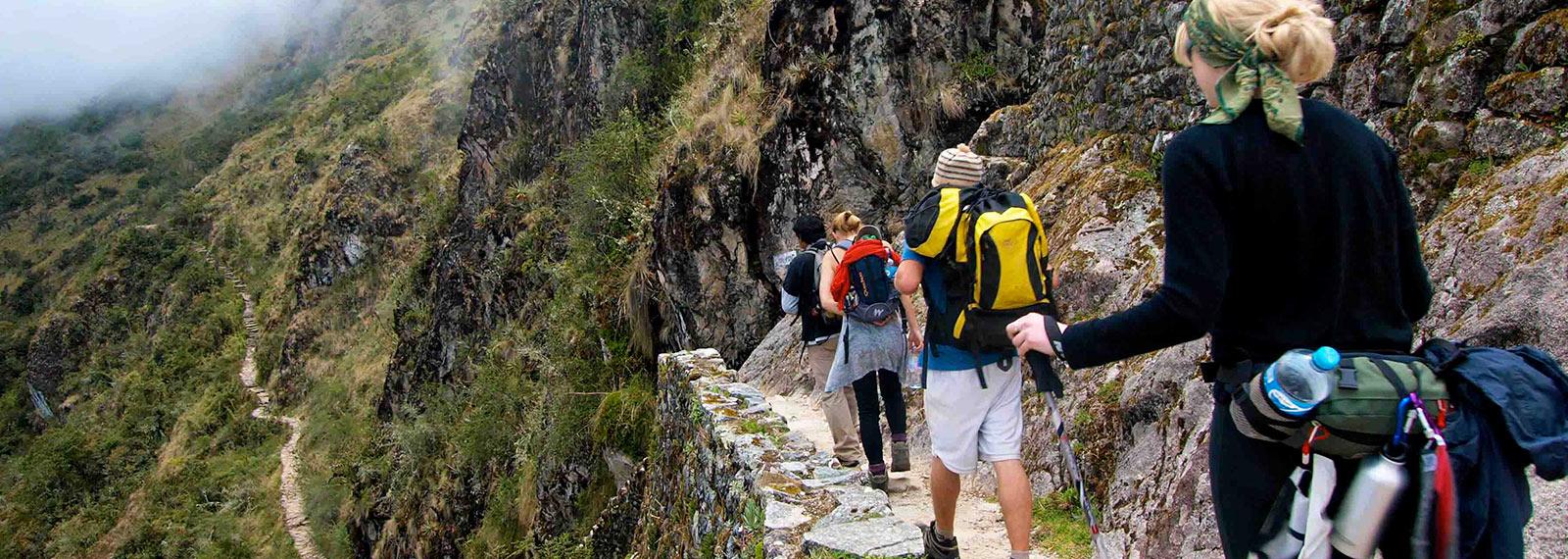 Machu picchu trek inca trail