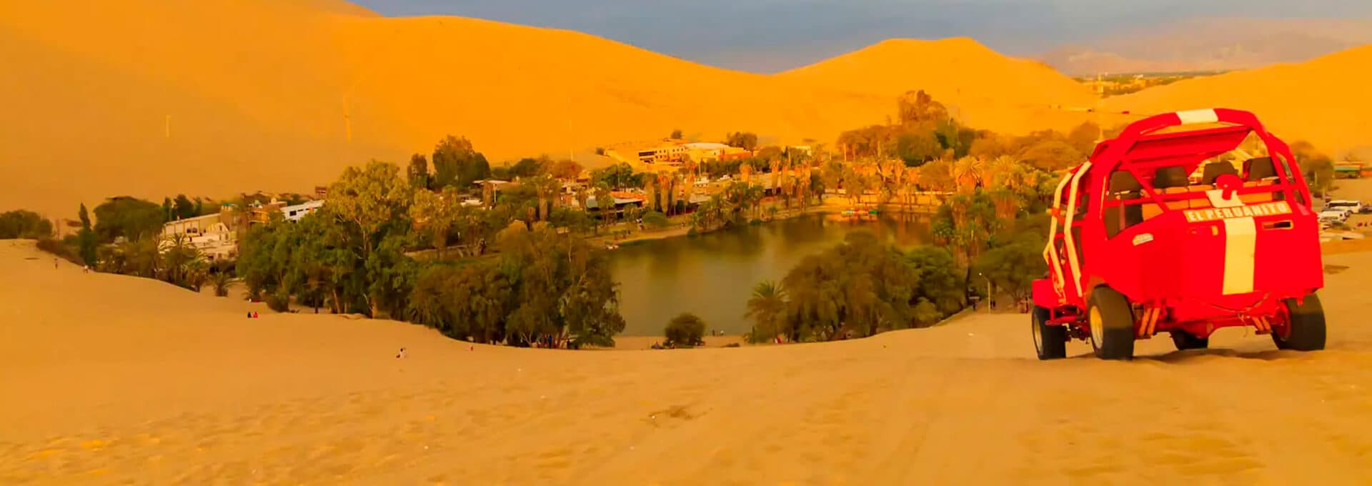 Huacachina in ica