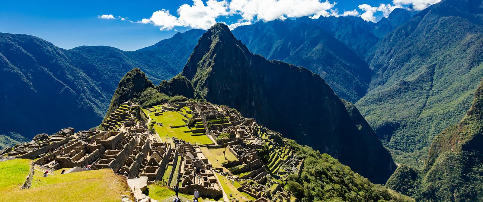 machu picchu archeological complex ruins