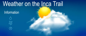weather on the inca trail