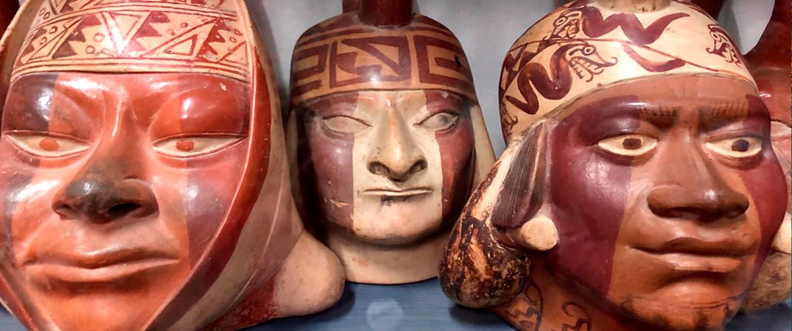 ceramic of larco museum