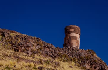 Chullpas of Sillustani  in Puno half day tour