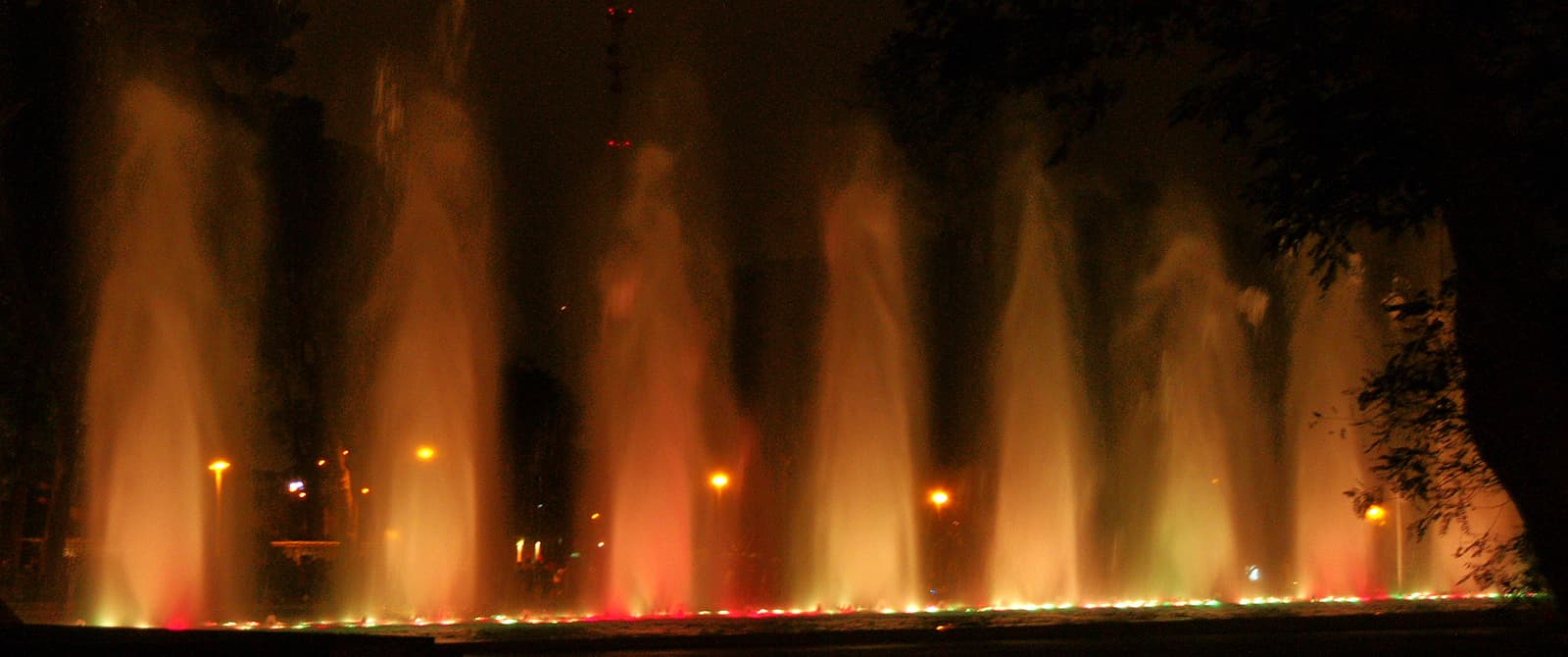 park of the reserva in lima