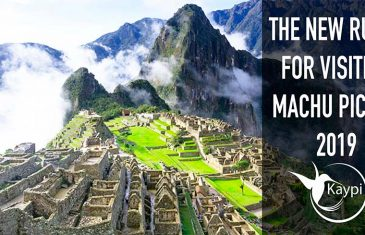 The new restrictions for Visiting Machu Picchu
